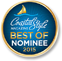 Coastal Style Magazine Best of Nominee 2015