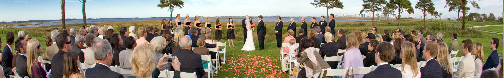 Lighthouse Sound Waterfront Wedding in Ocean City, MD.